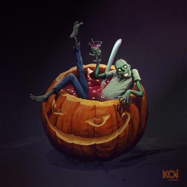 Koi Soup . Halloween 2020